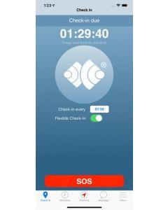 Tracertrak SafeWorker™ App