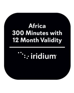 Iridium Africa 300 Minute with 12 Month Validity Prepaid Plan
