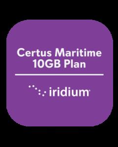 Iridium Certus Maritime 10GB Plan