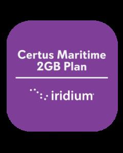 Iridium Certus Maritime 2GB Plan