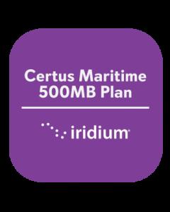 Iridium Certus Maritime 500MB Plan