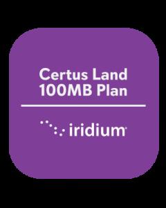 Iridium Certus Land 100MB Plan