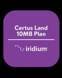Iridium Certus Land 10MB Plan