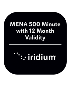 Iridium MENA 500 Minute with 12 Month Validity Prepaid Plan