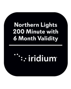 Iridium Northern Lights 200 Minutes with 6 Month Validity Prepaid Plan